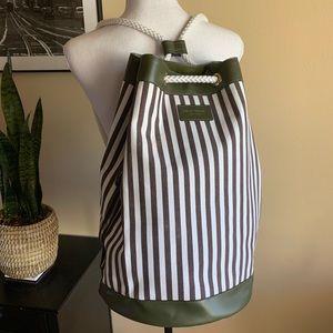 Henri Bendel Striped Backpack